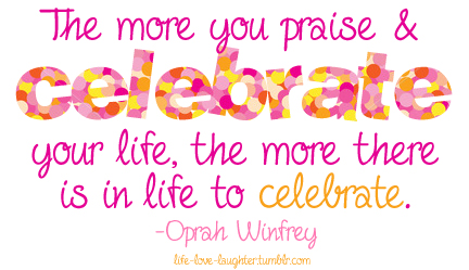 Celebration of Life Party - Quote