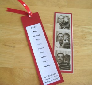 Mother's Day Gifts from Kids - Bookmark
