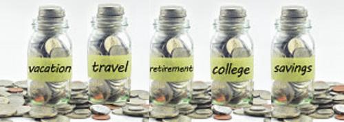 Preserve Family Financial Information - Money Saving Jars