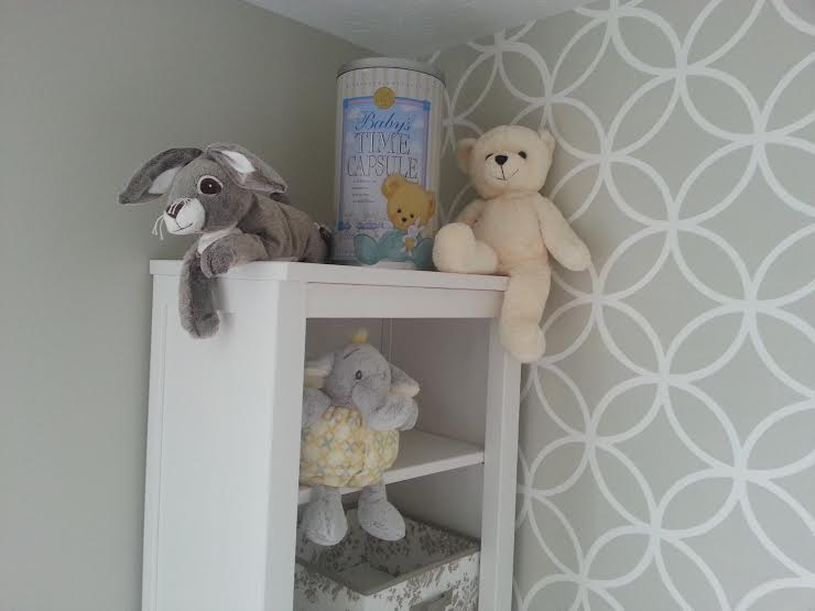 Baby Time Capsule - Storage Place on Shelf