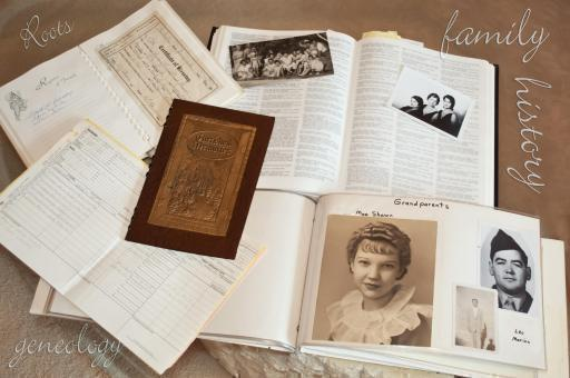 Important Pages for your Family Album - Old Certificates and Papers