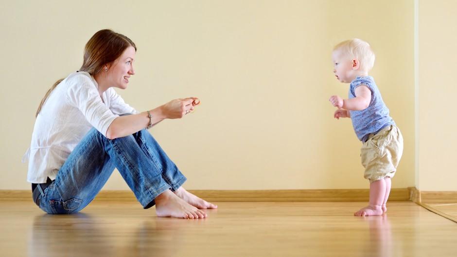 Preserve Childhood Memories - First Walk