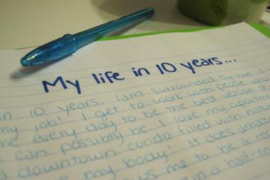 Restore a Dream - Write your goals