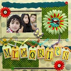 Scrapbook Fun for All - Memories