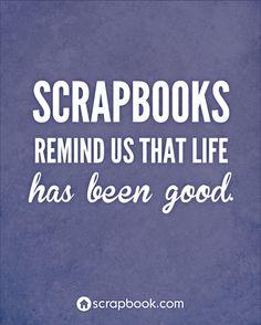 Scrapbook Fun for All - Quote