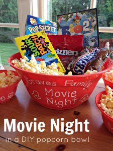 DIY Gift Ideas - Movie Night