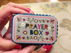 DIY Gift Ideas - Prayer box