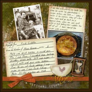 Heritage Project Ideas -- Recipe Book