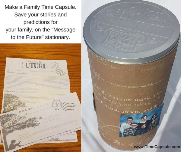 Memorable Moment - Save stories in a DIY Time Capsule