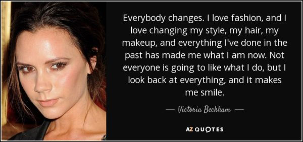 Fashion Changes Quote