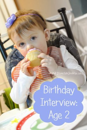 Interview Your Child Yearly - Birthday Girl