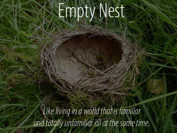 Letting Go - Empty Nest