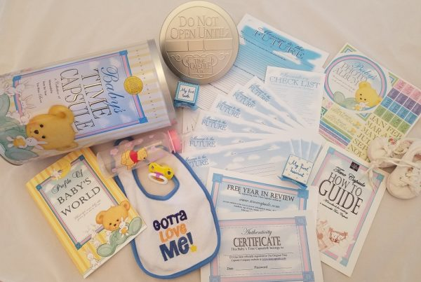 Life Skills - Baby Time Capsule with Everything Needed to Start