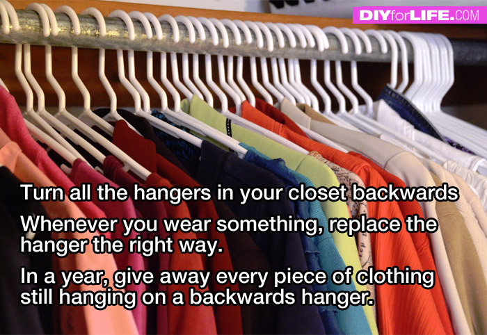 How to Clean Out your Closet - DIY for Life