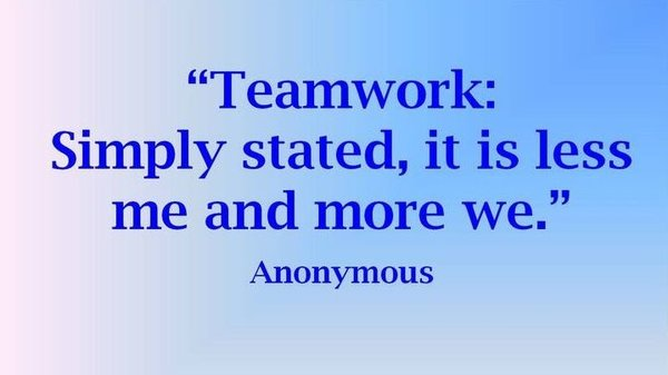 Teamwork Fun - Quote