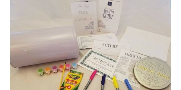 Creating a Time Capsule - DIY - Up Close for Amazon Listing