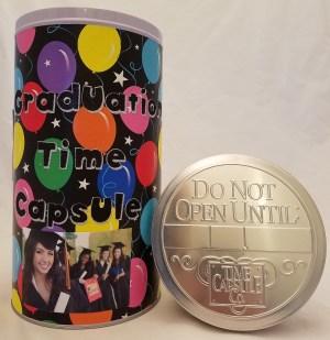 Graduation Time Capsule Tin