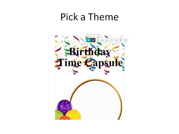 DIY Time Capsule craft