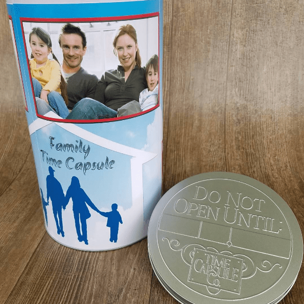 Pass on Life Lessons - DIY Family Time Capsule
