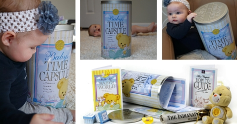 New Mother's Day Journal - Save journal in Baby Time Capsule