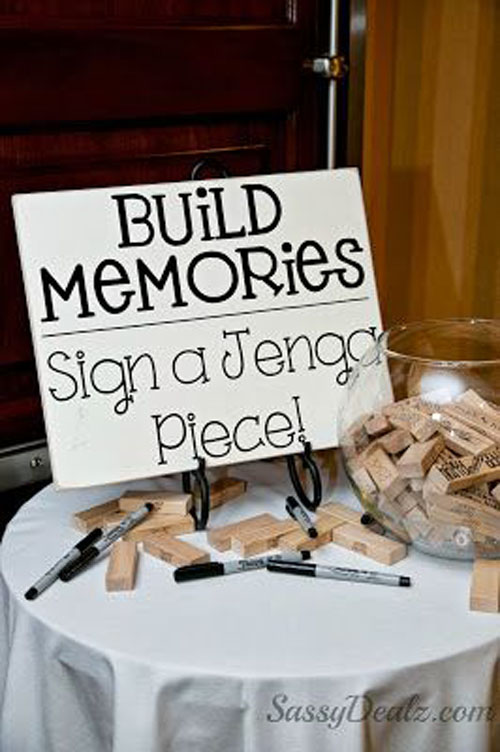 Fun Ideas for the Wedding Guests - Games