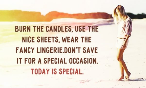 Save Life Lessons - Burn the Candles Quote