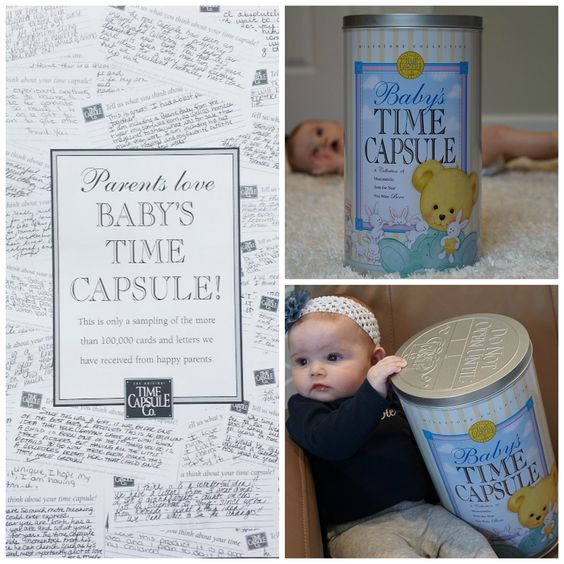 Most Invaluable Gift - Parents Love Baby Time Capsule
