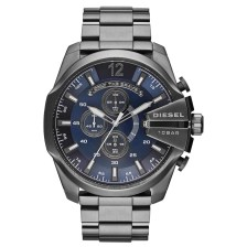 Diesel Mega Chief Stainless Steel Chronograph