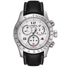 Tissot V8 Silver Quartz Chronograph Sport