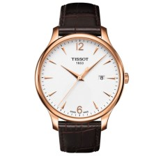 Tissot Rose Gold PVD Men's Silver Quartz Classic