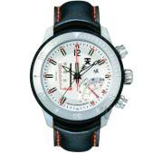 Tx World Linear Black Leather Strap image