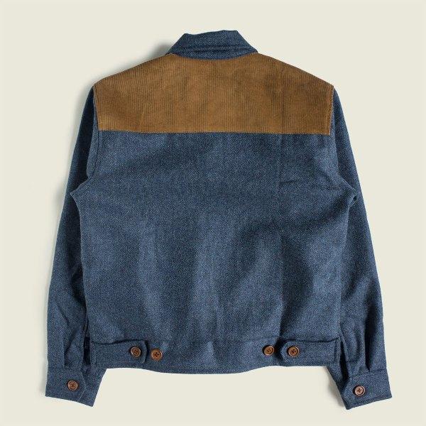Vintage Workwear 1930s 1940s Sports Work Jacket Two Tone