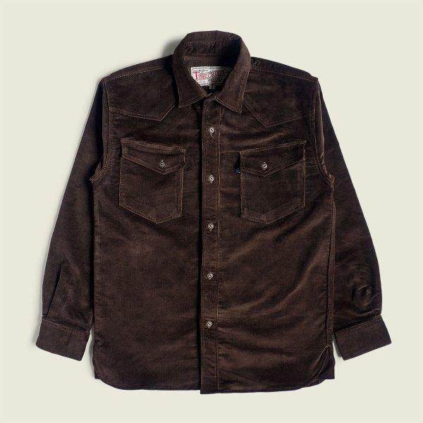 Vintage Corduroy Western Shirt