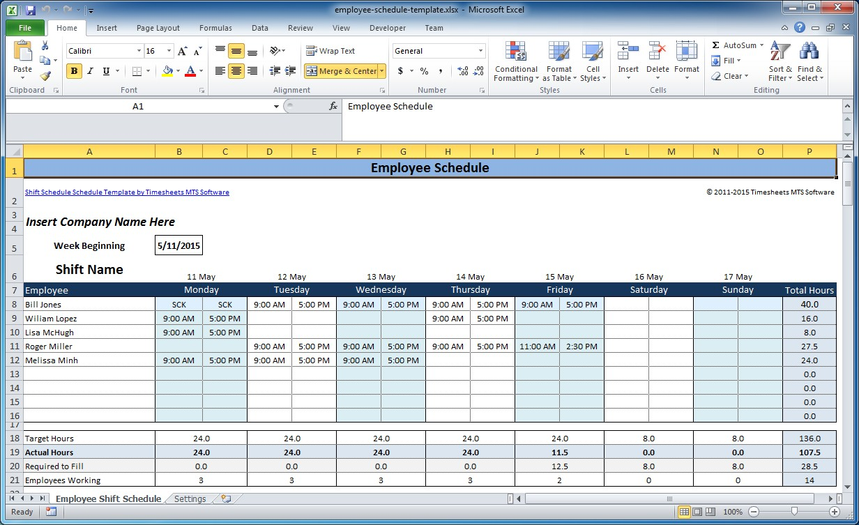 shift schedule template excel free - April.onthemarch.co