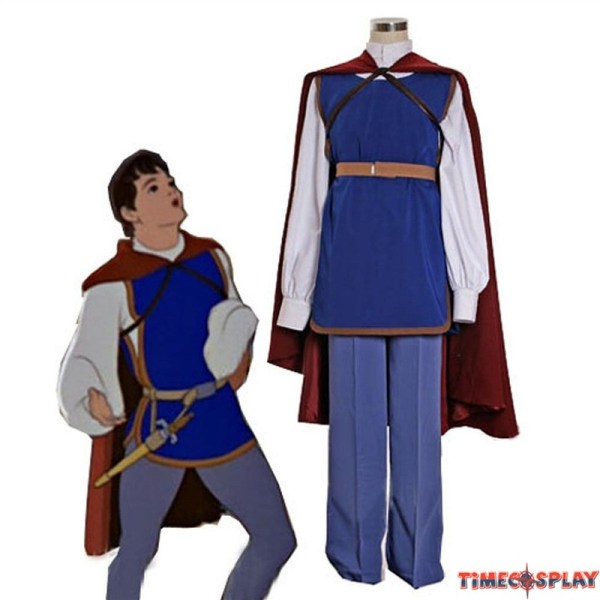 Disney Movie Snow White Prince Full Outfit Party Costumes