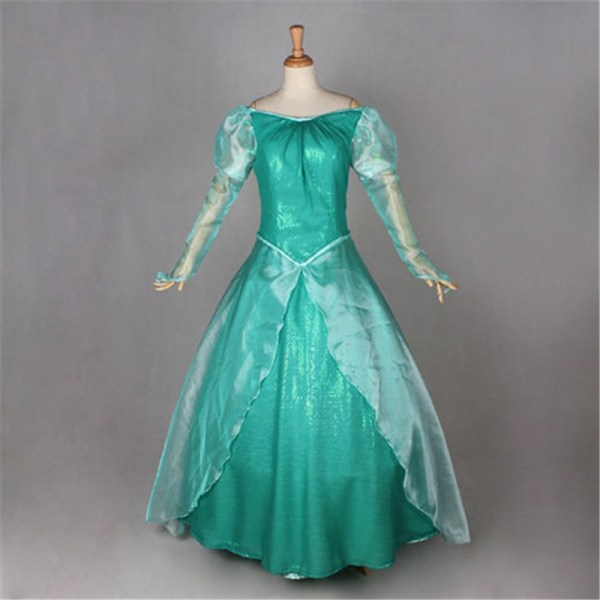Little Mermaid Cosplay Costume - Timecosplay