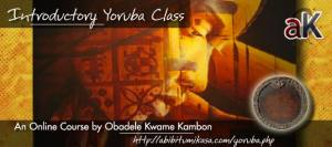 Recording: Intro Yoruba Class 6 Online Jan 3, 2013