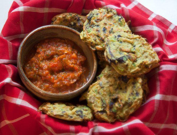 Baked Indian Pakora