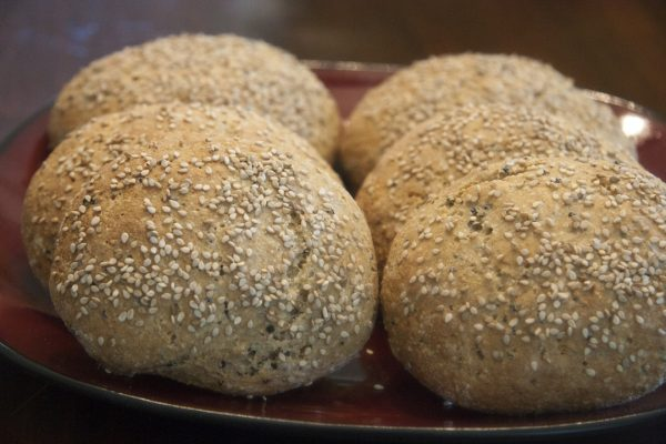 Whole Grain Burger Buns