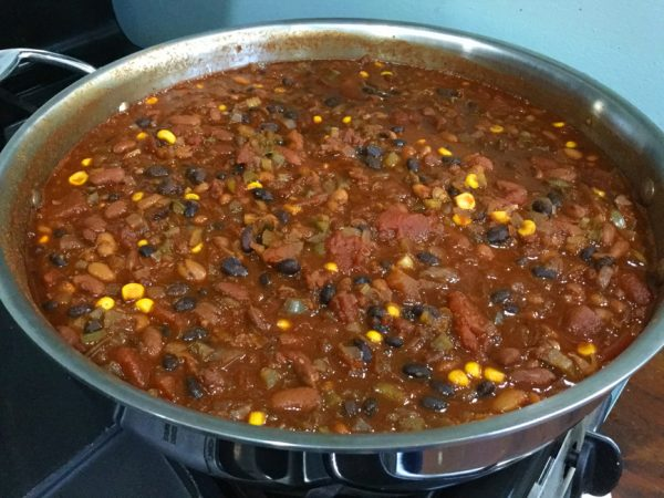 Southwestern Three-Bean Chili