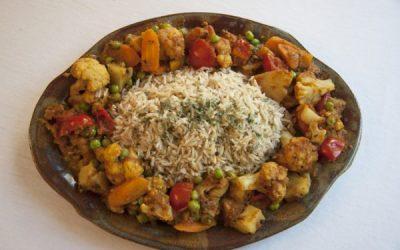 Indian Cauliflower Masala