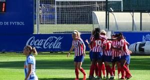 Victoria contundente del Atlético de Madrid