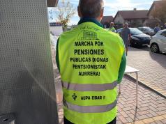 marcha por la lucha de las pensiones