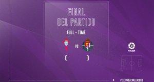 Celta de Vigo 0-0 Real Valladolid