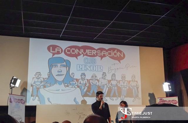 Alejandro Pavón recogiendo su premio. / Fuente: Marta Alberca.