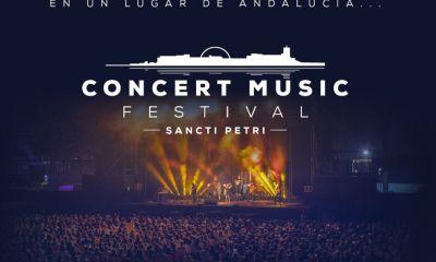 Cartel anunciador del Concert Music Festival 2020. // Foto: Taquilla Mediaset