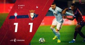 Celta de Vigo 1-1 Osasuna (@CAOsasuna)