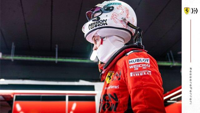 Vettel subiendo al SF1000