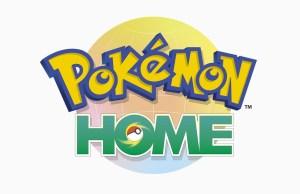 Portada del artículo, logo de Pokémon HOME