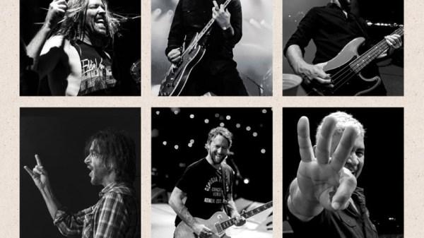 Cartel concierto Foo Fighters